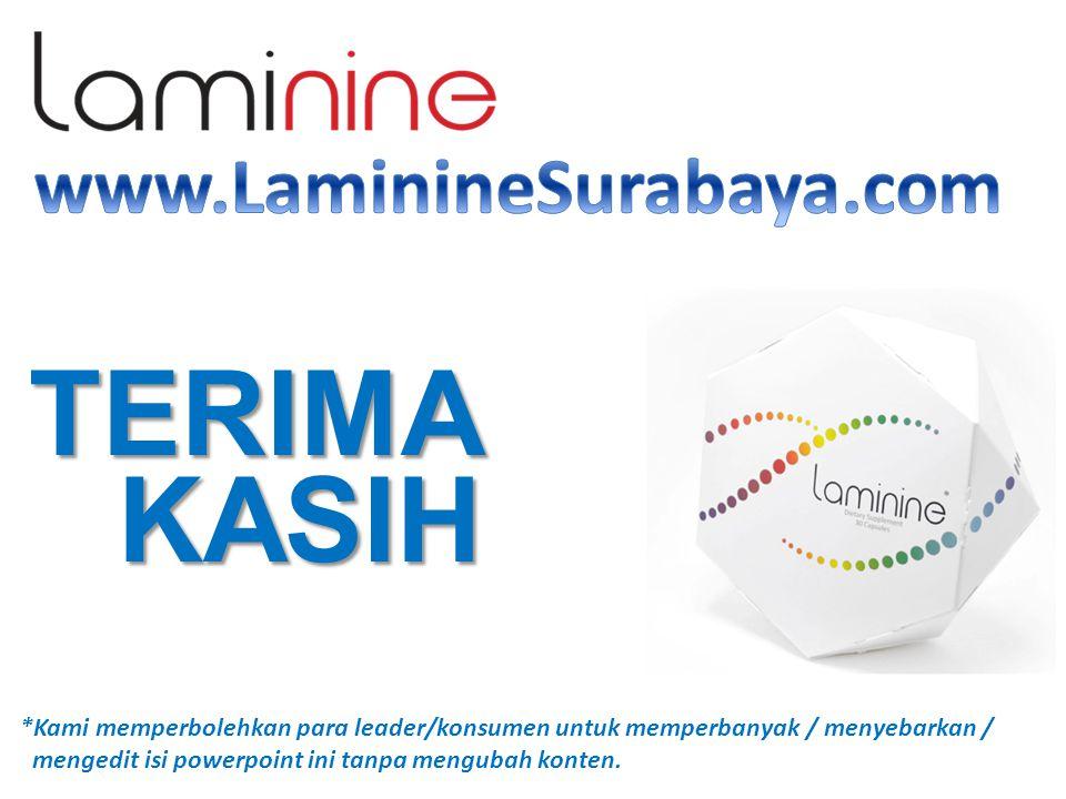 TERIMA KASIH www.LaminineSurabaya.com