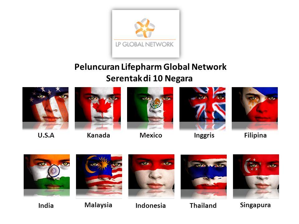 Peluncuran Lifepharm Global Network Serentak di 10 Negara