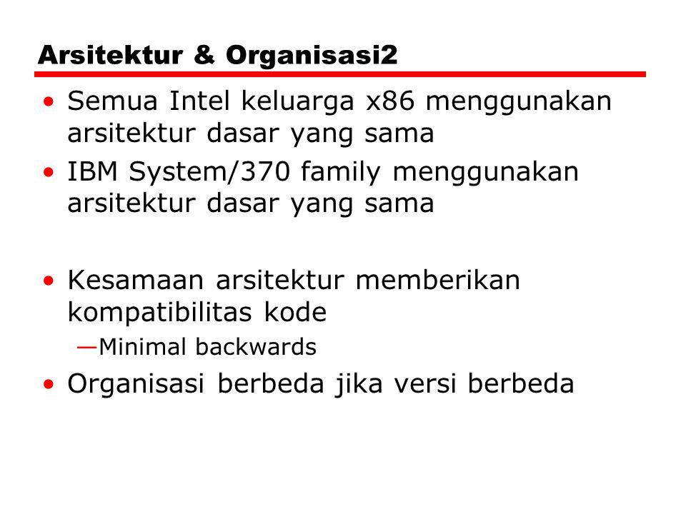 Arsitektur & Organisasi2