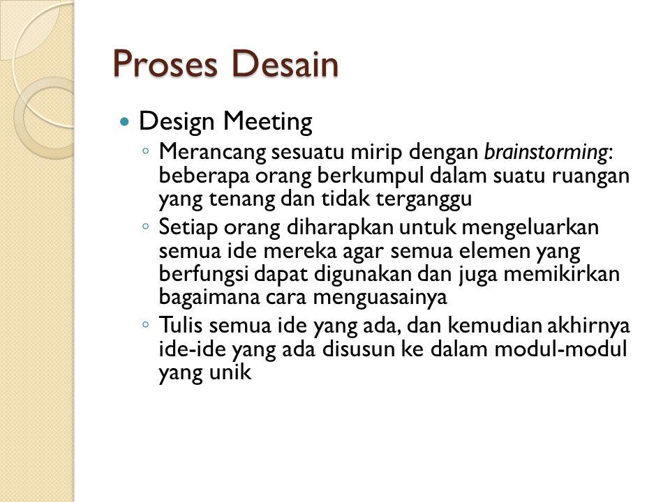Proses Desain Design Meeting