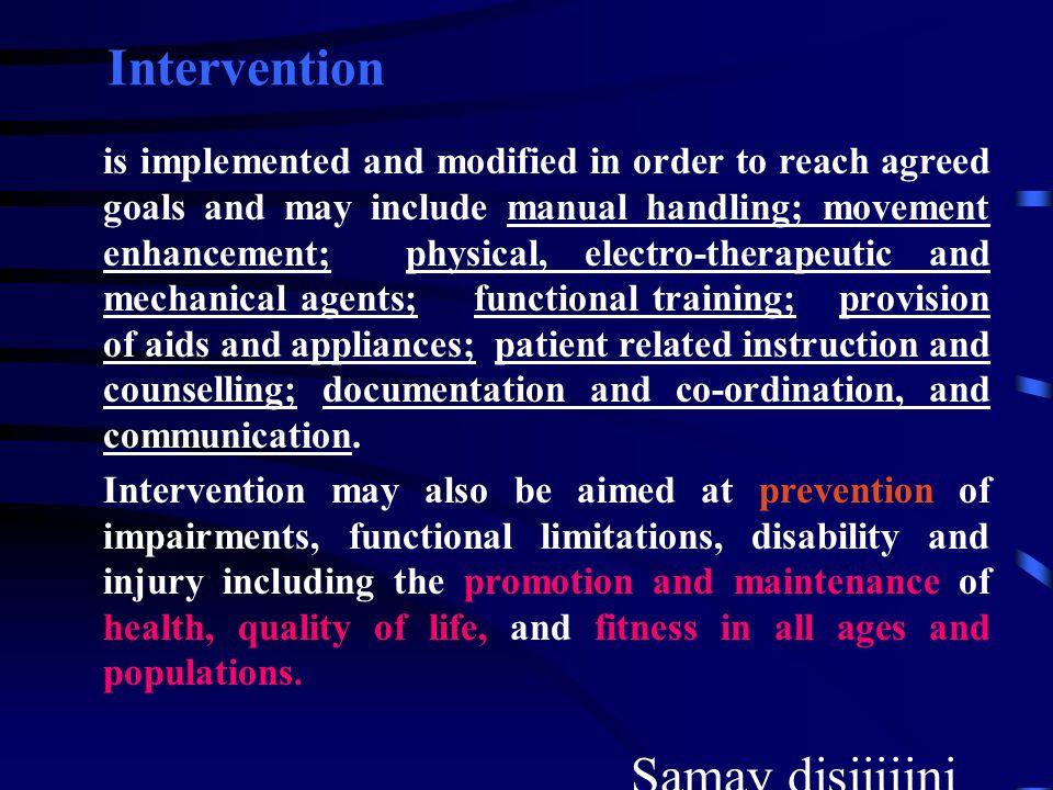 Intervention Samay disiiiiini