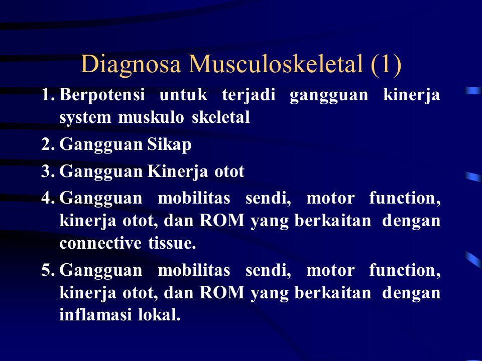 Diagnosa Musculoskeletal (1)