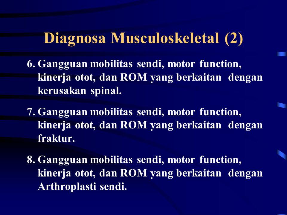 Diagnosa Musculoskeletal (2)