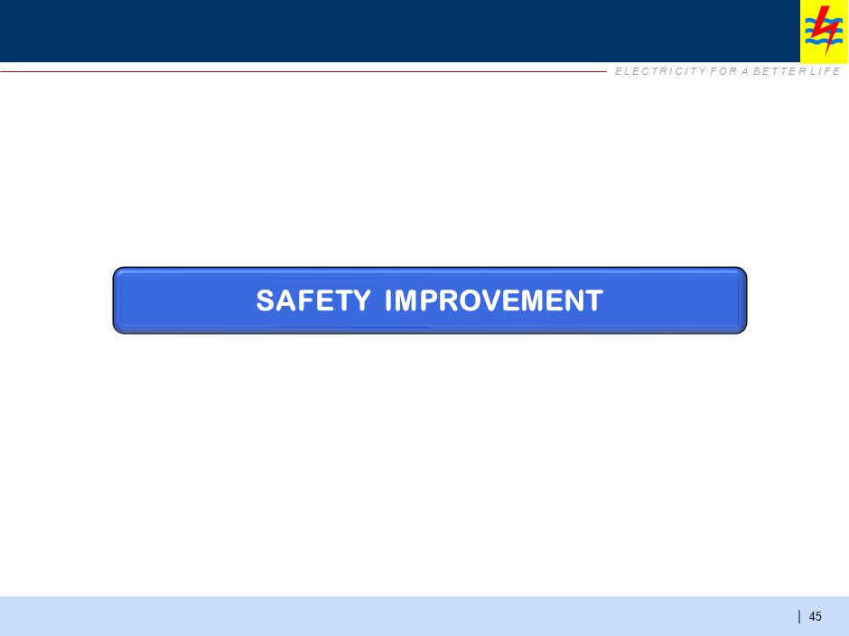 Safety Improvement – summary