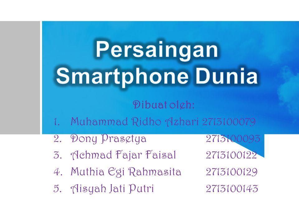 Persaingan Smartphone Dunia