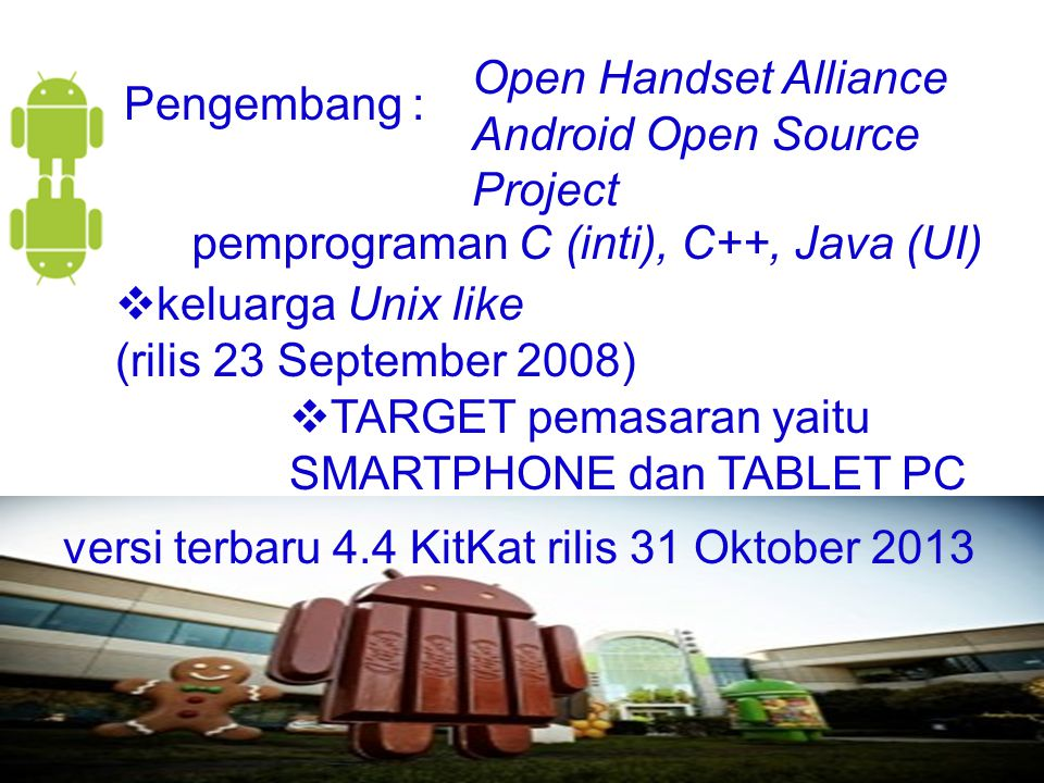 Open Handset Alliance Android Open Source Project