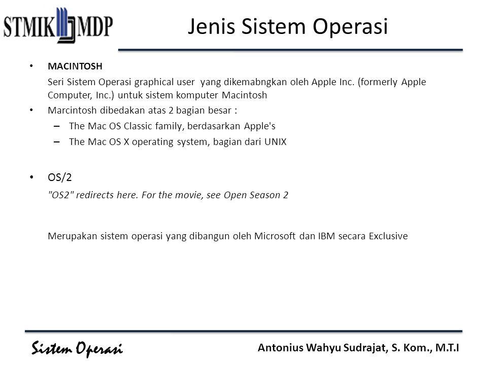 Jenis Sistem Operasi OS/2