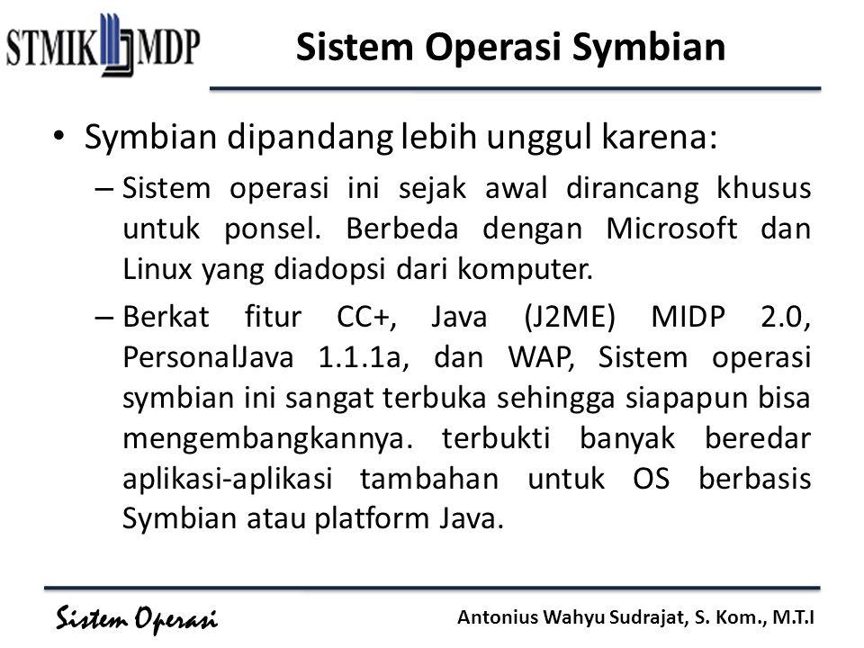 Sistem Operasi Symbian
