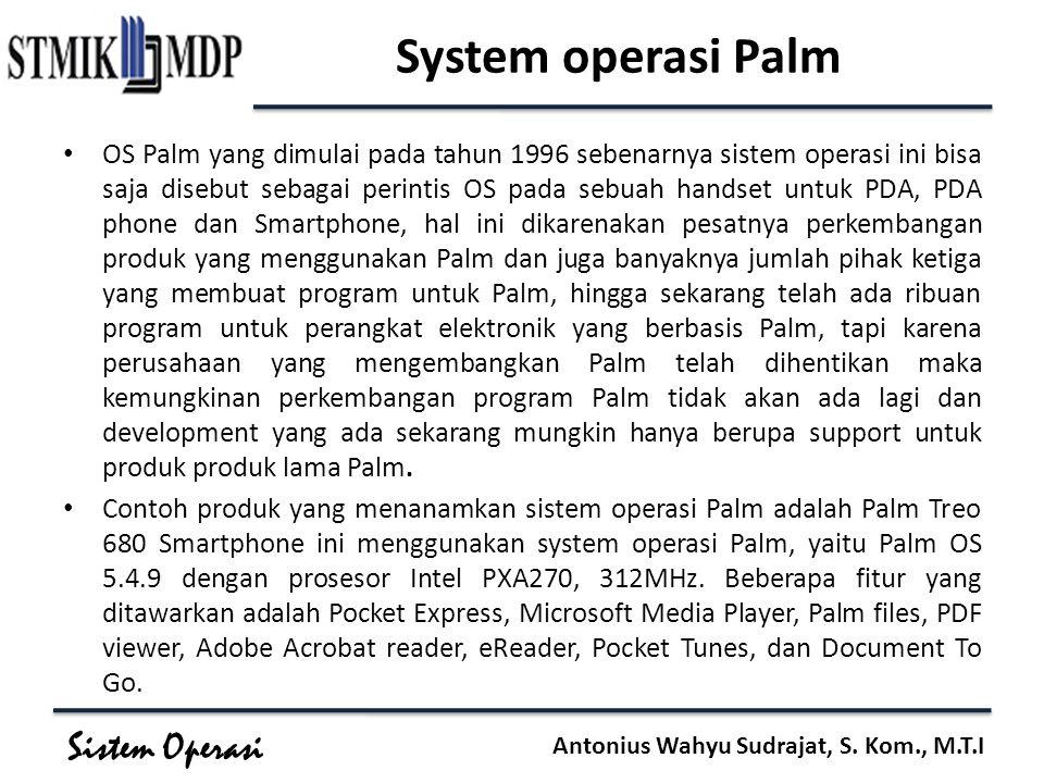 System operasi Palm