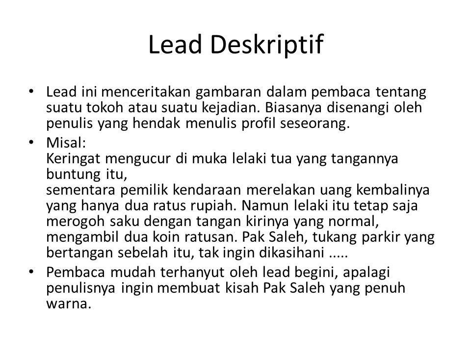 Lead Deskriptif
