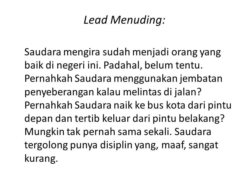 Lead Menuding: