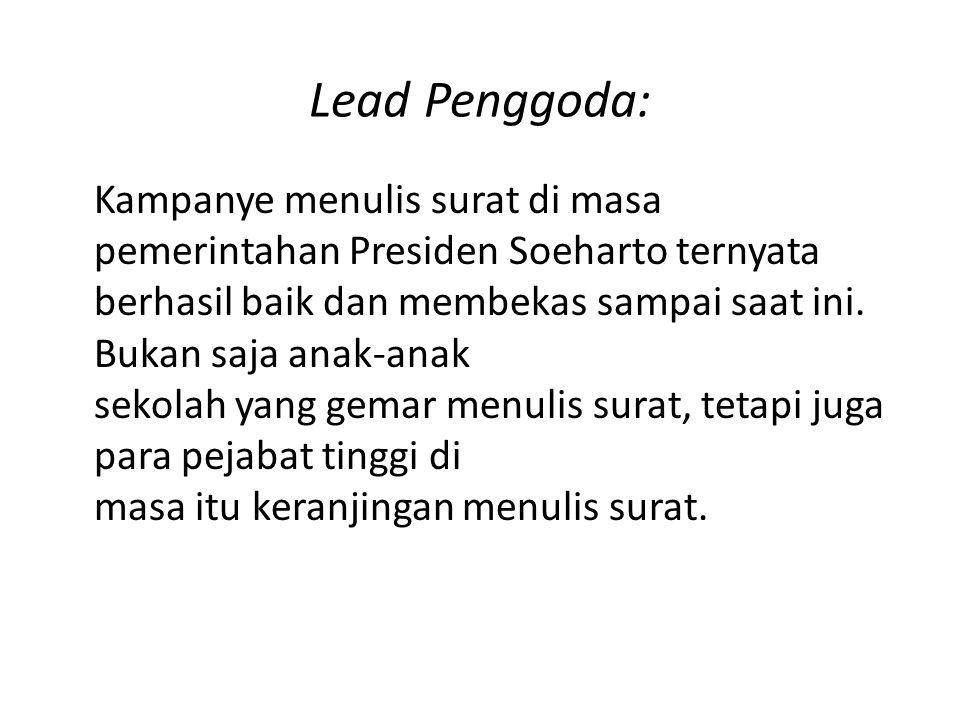 Lead Penggoda: