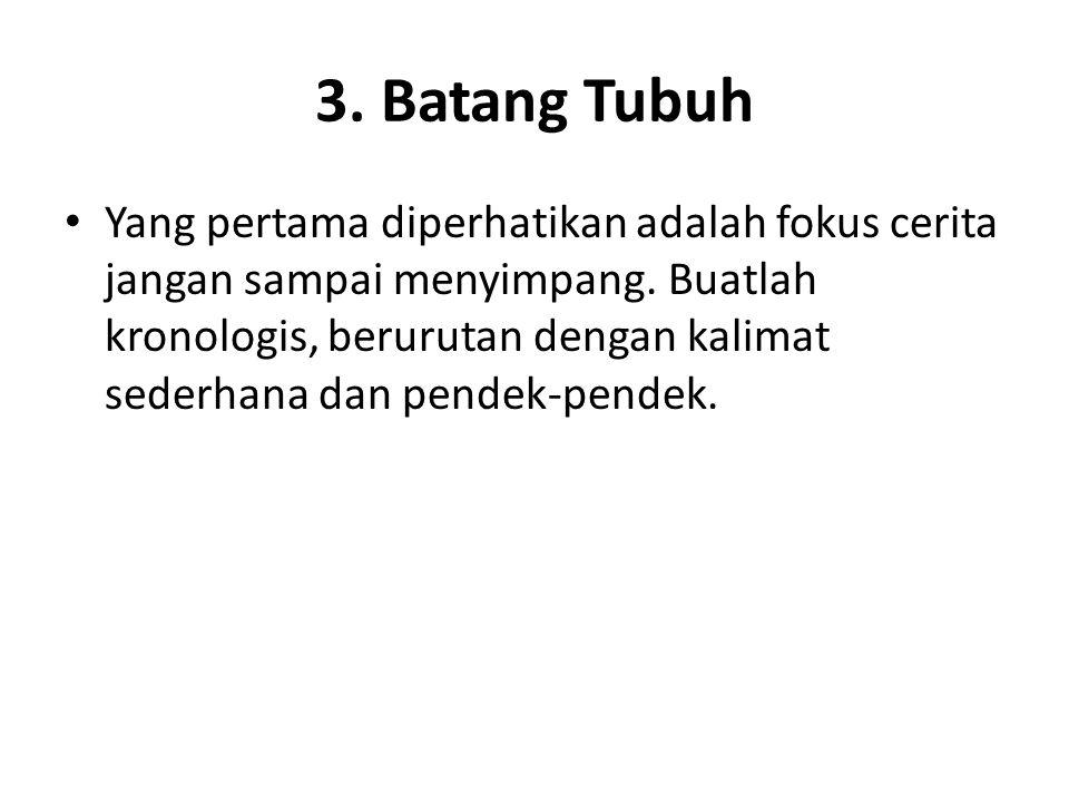 3. Batang Tubuh