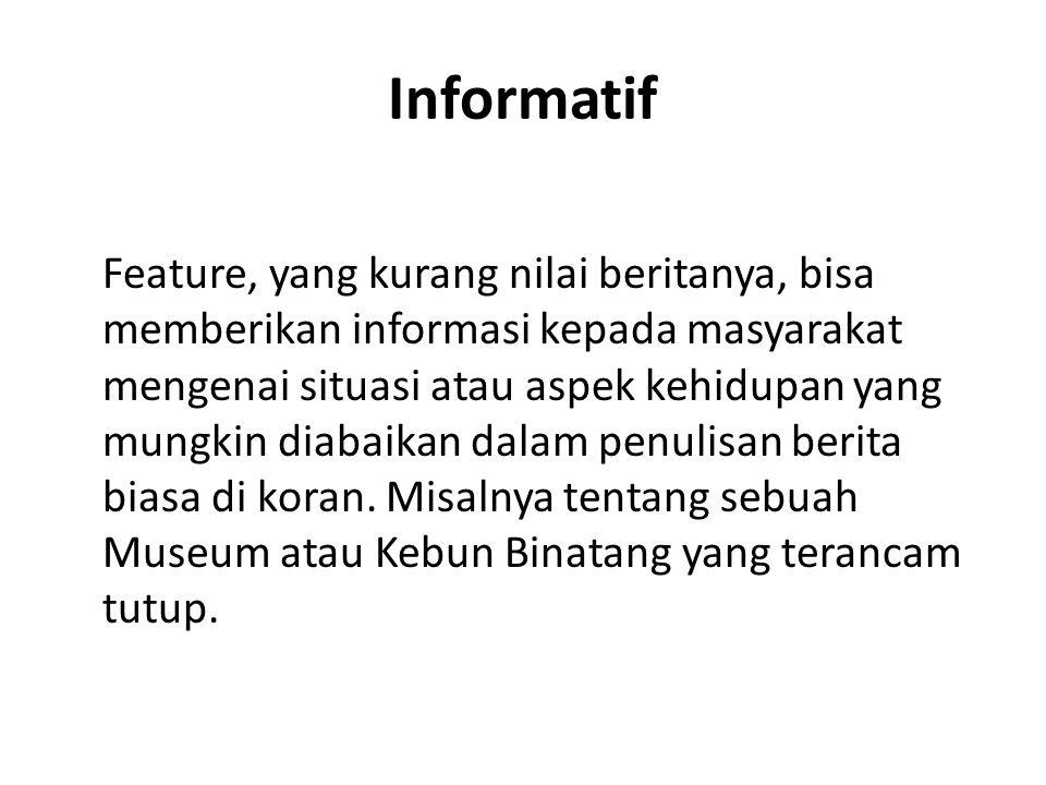 Informatif