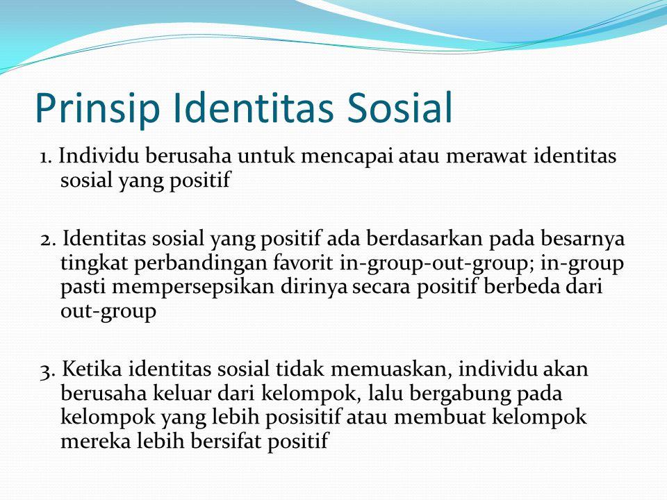 Prinsip Identitas Sosial