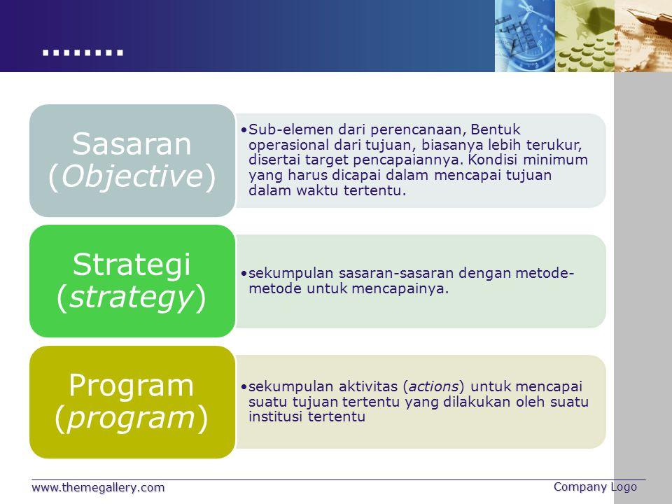 …….. www.themegallery.com Company Logo Sasaran (Objective)