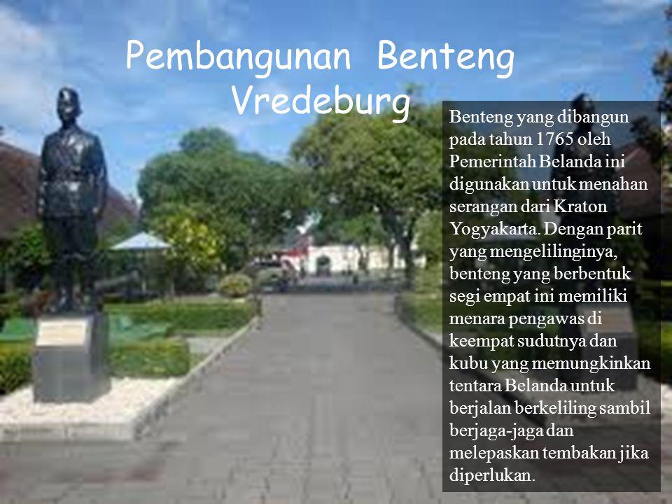 Pembangunan Benteng Vredeburg