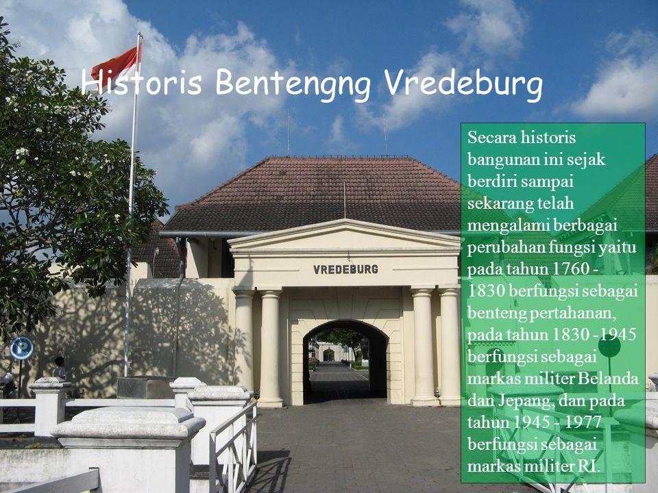 Historis Bentengng Vredeburg