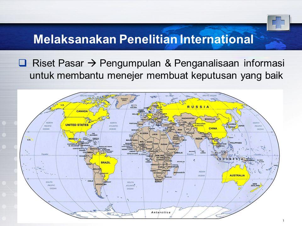 Melaksanakan Penelitian International