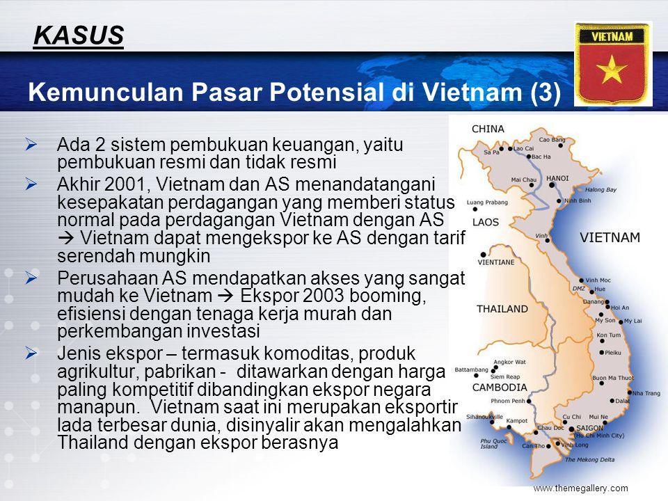 Kemunculan Pasar Potensial di Vietnam (3)