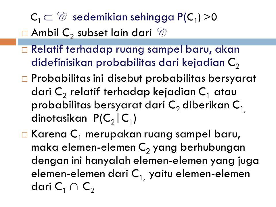 Ambil C2 subset lain dari C