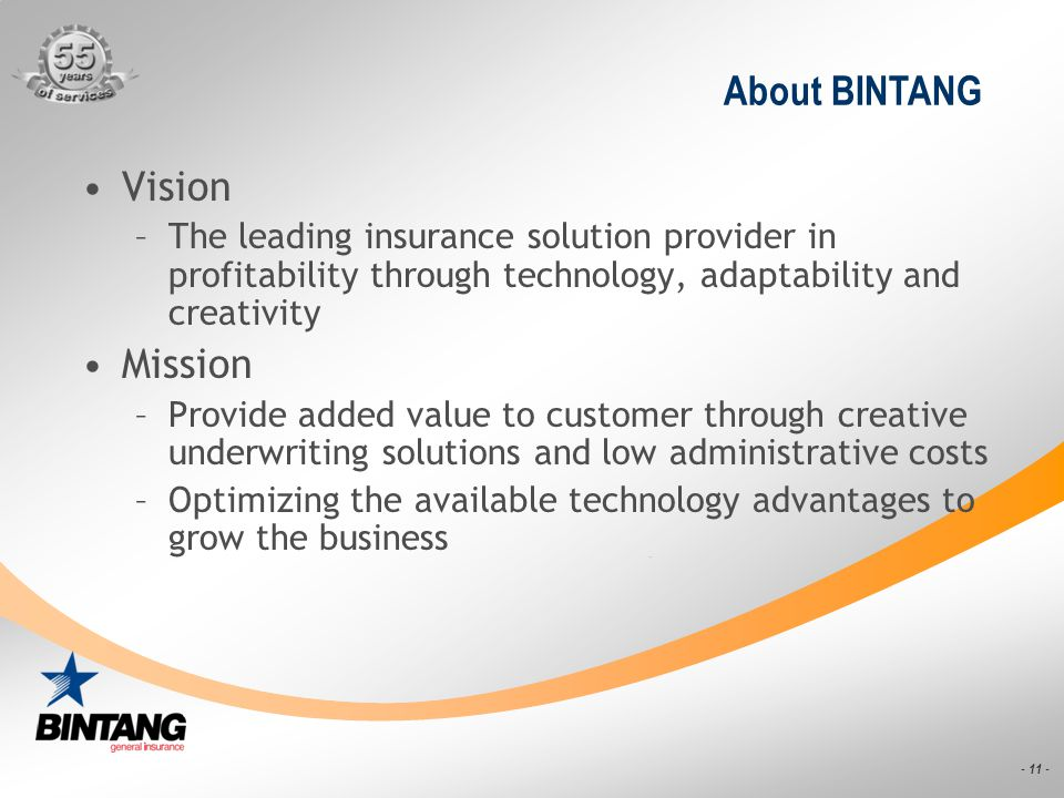 About BINTANG Vision Mission
