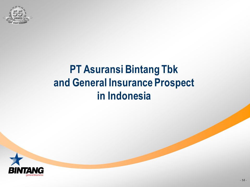 PT Asuransi Bintang Tbk and General Insurance Prospect in Indonesia