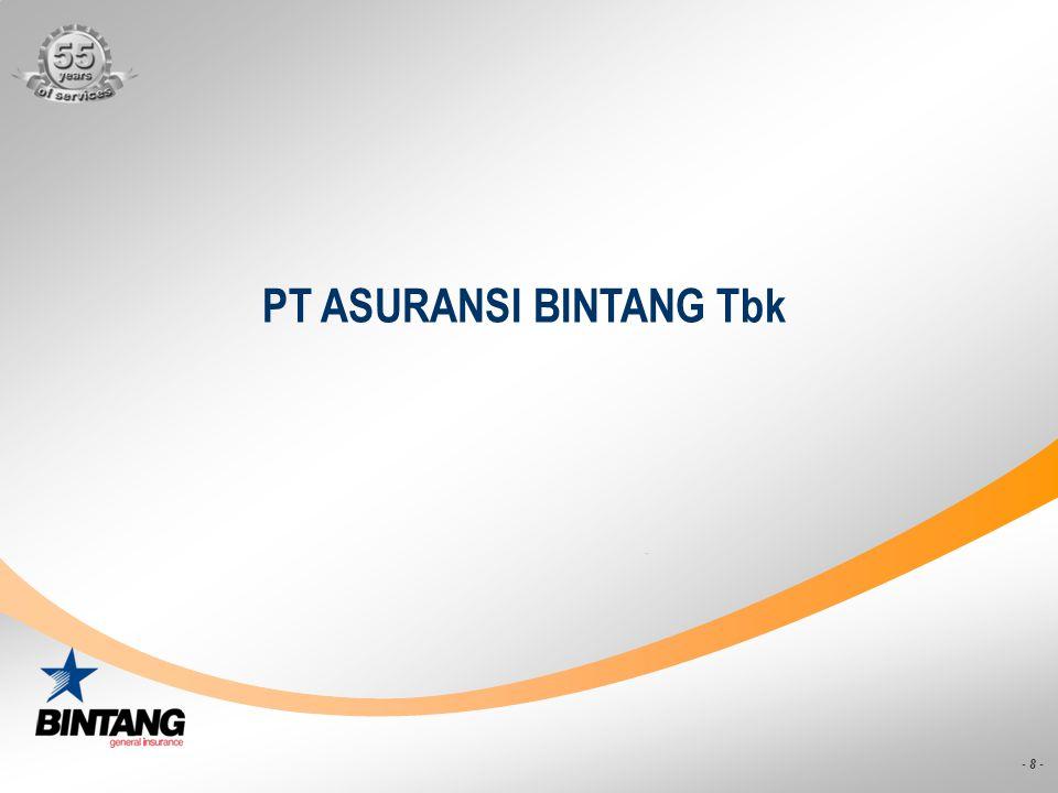 PT ASURANSI BINTANG Tbk