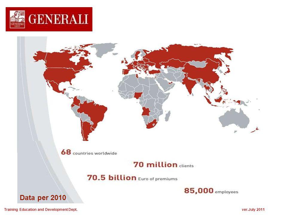 Dari pencapaian tersebut, saat ini GENERALI memiliki total :