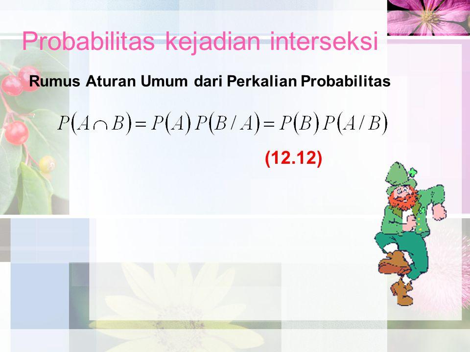 Probabilitas kejadian interseksi