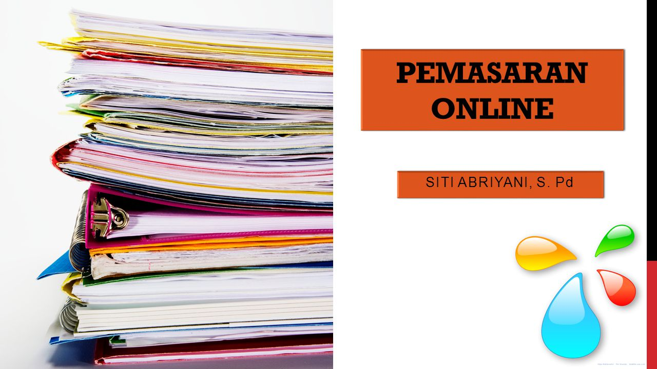 PEMASARAN ONLINE Siti abriyani, s. pd