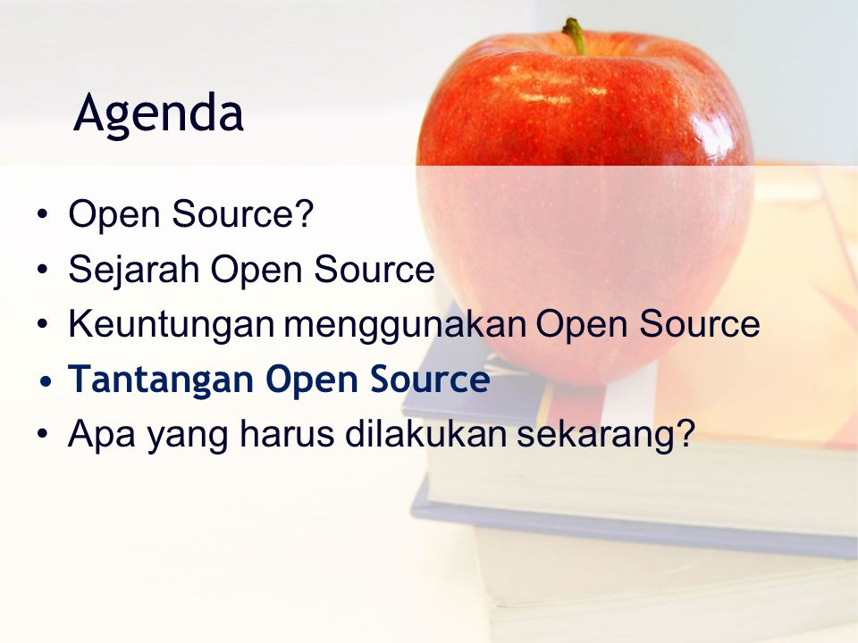 Agenda Open Source Sejarah Open Source