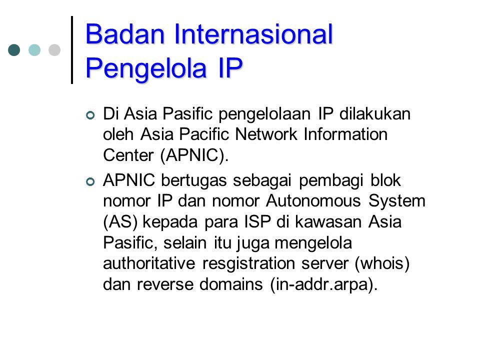 Badan Internasional Pengelola IP