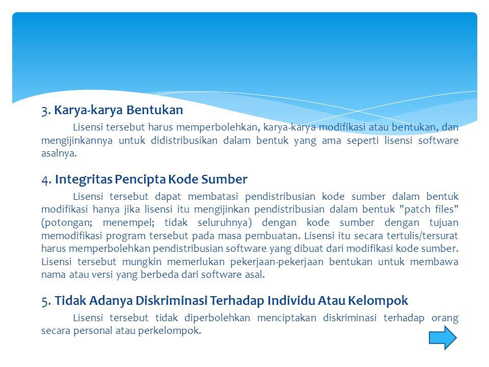 4. Integritas Pencipta Kode Sumber