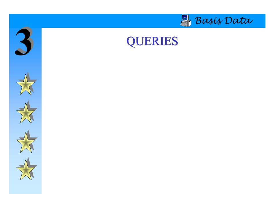 Basis Data 3 QUERIES