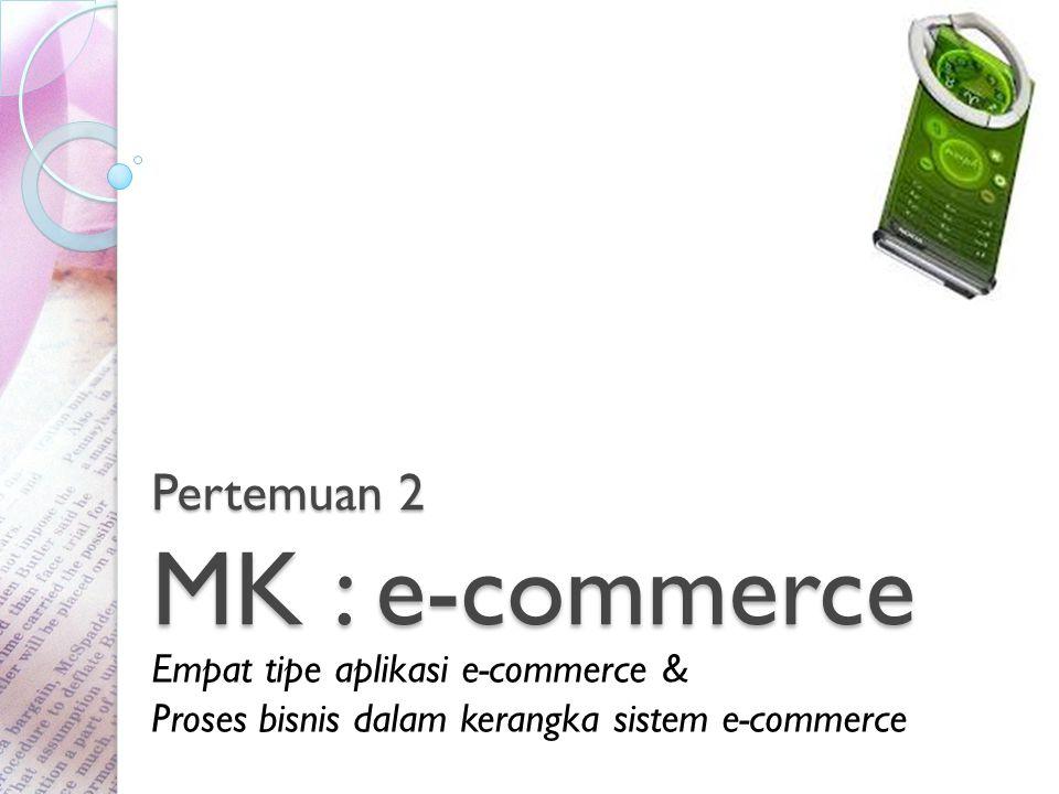 Pertemuan 2 MK : e-commerce