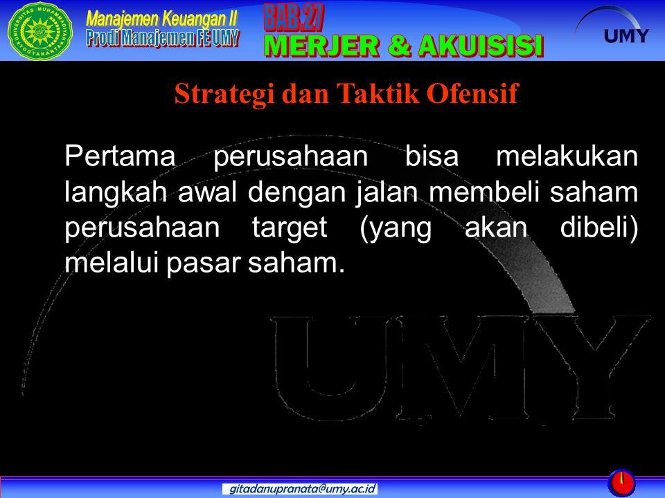 Strategi dan Taktik Ofensif