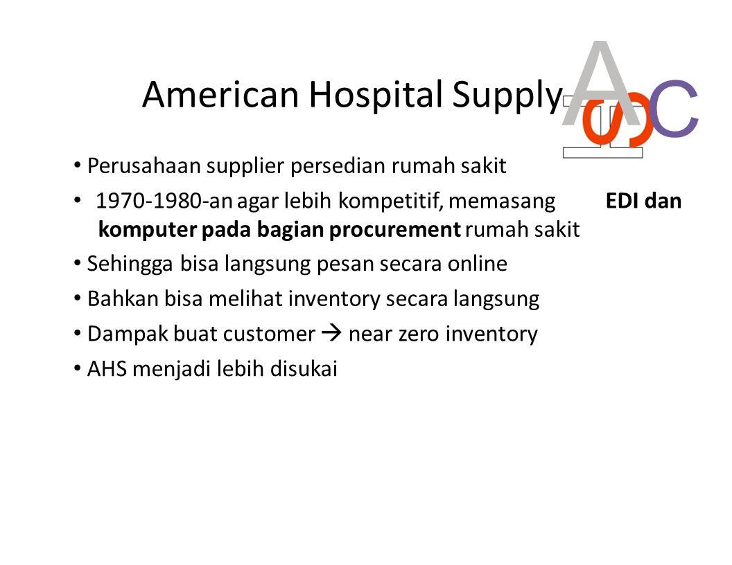A C American Hospital Supply