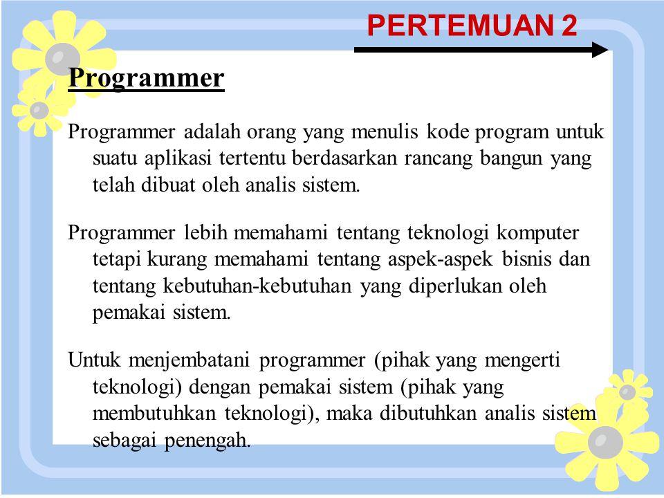 PERTEMUAN 2 Programmer.