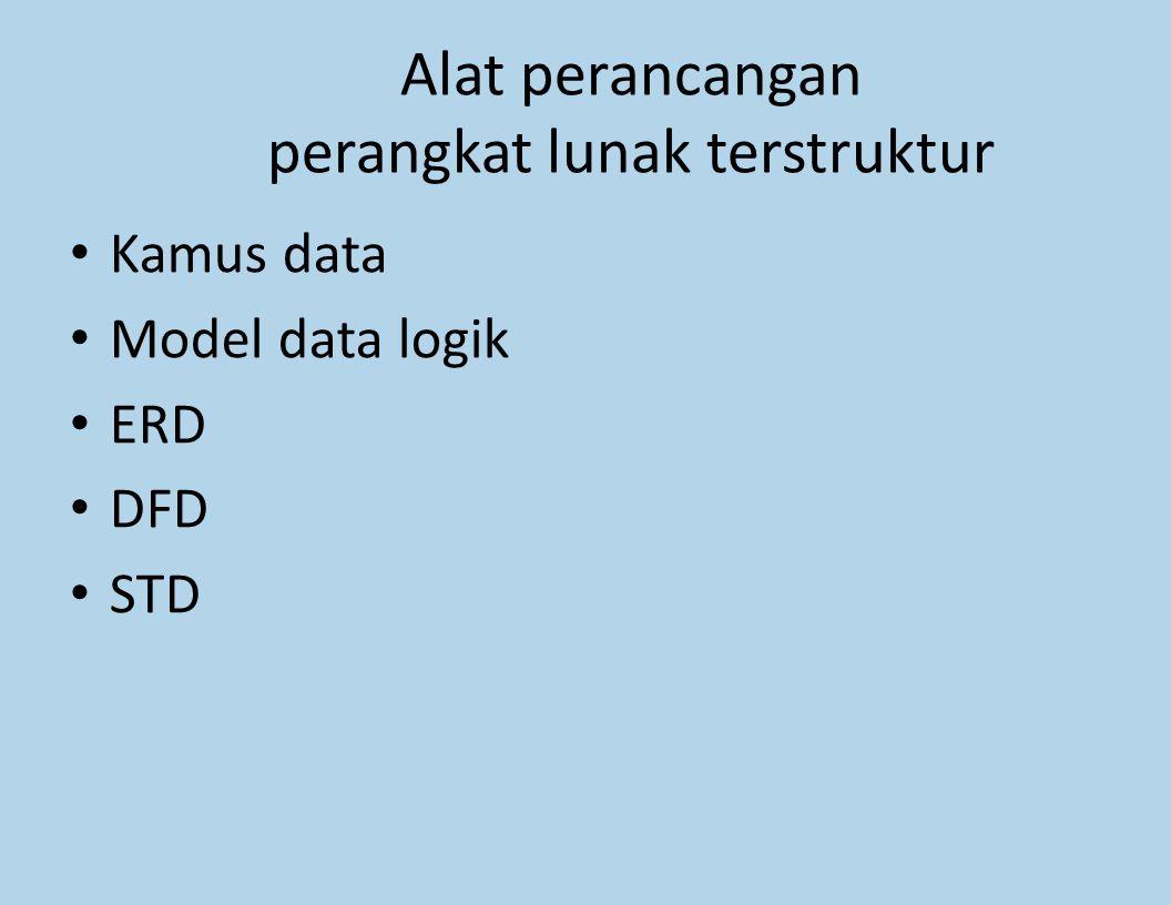 Alat perancangan perangkat lunak terstruktur
