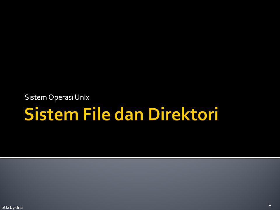 Sistem File dan Direktori
