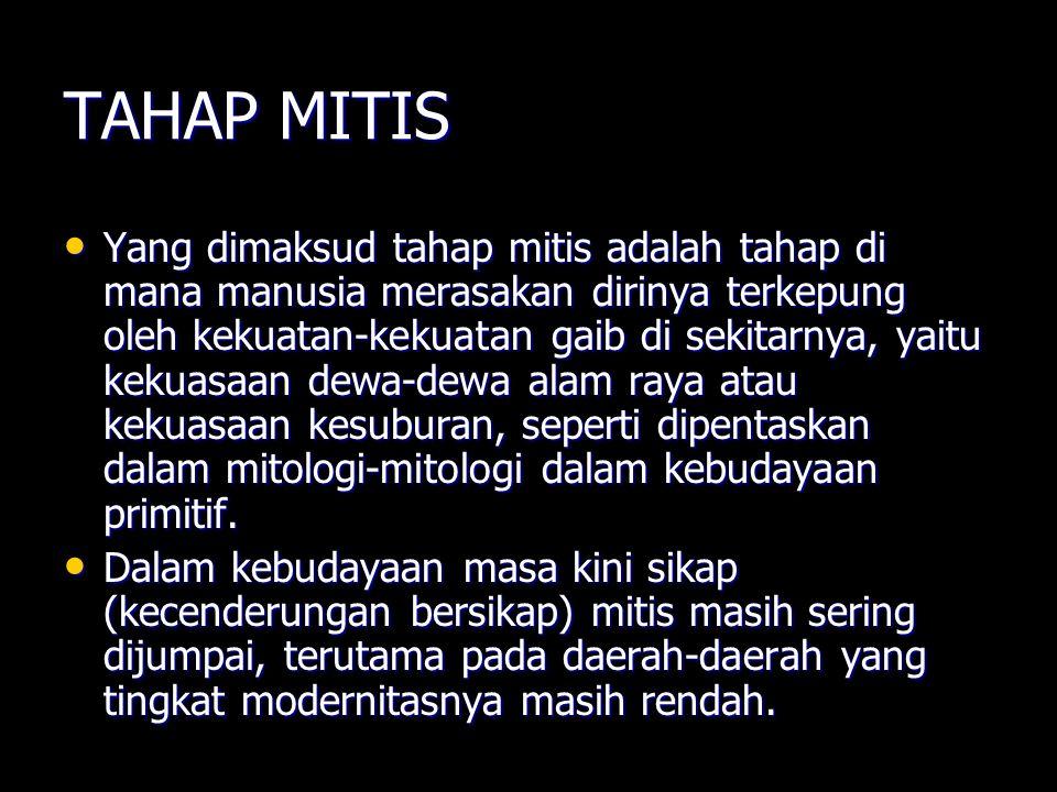 TAHAP MITIS