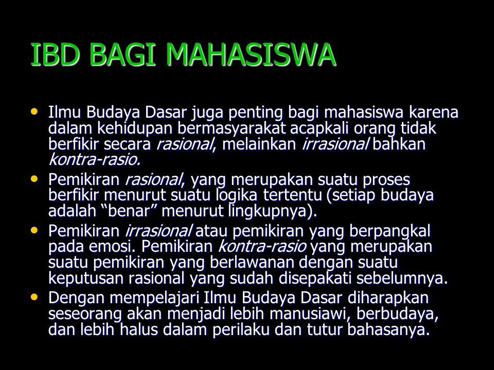 IBD BAGI MAHASISWA
