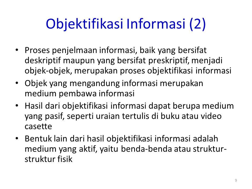 Objektifikasi Informasi (2)