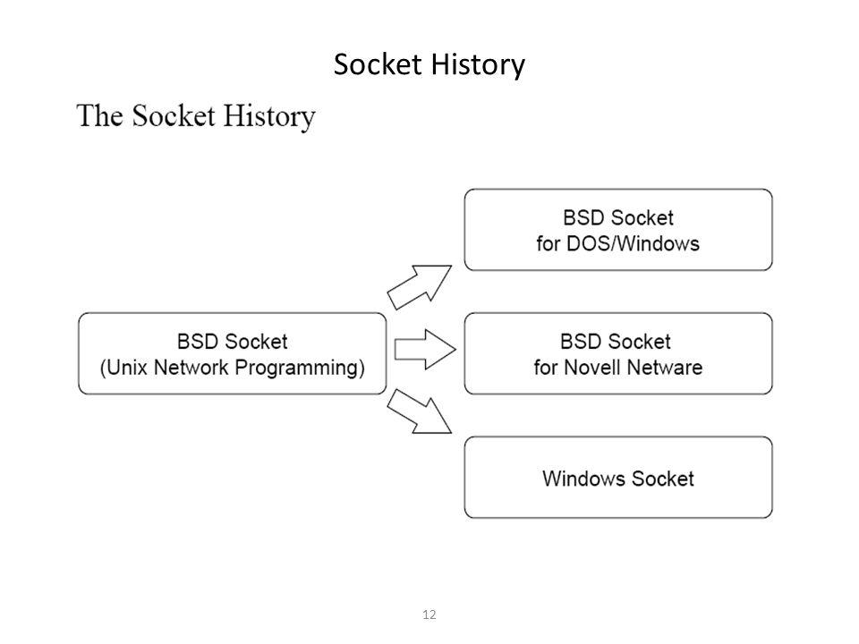 Socket History