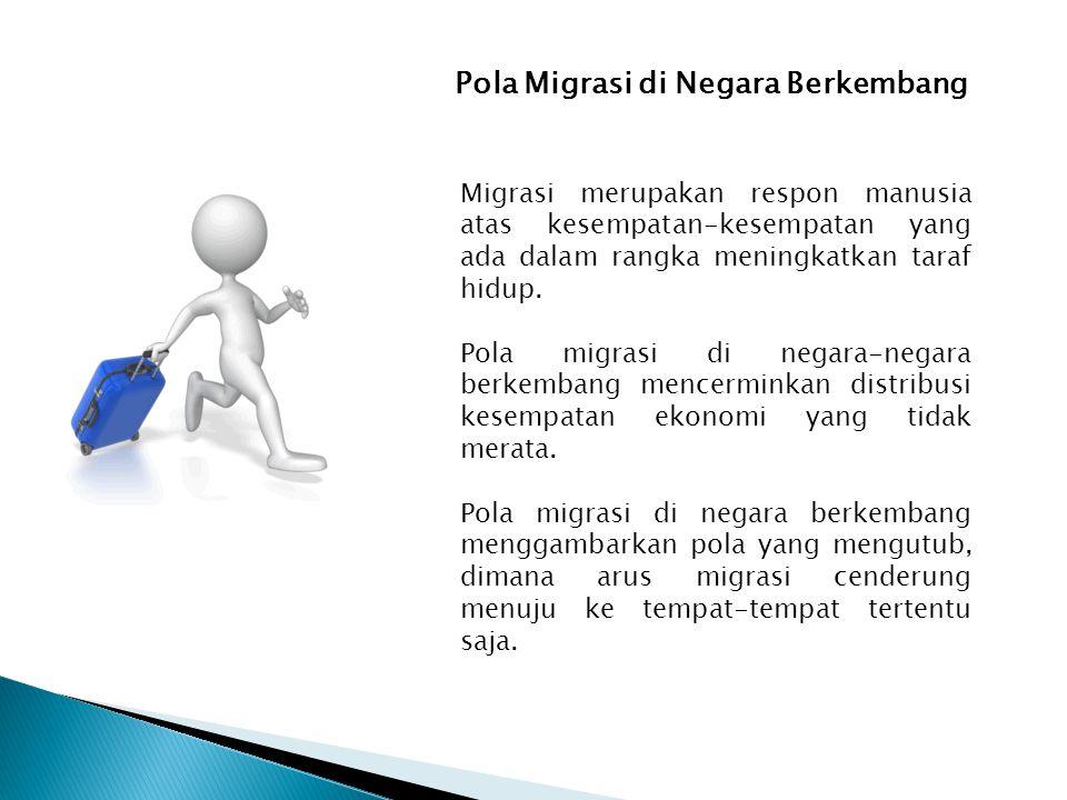 Pola Migrasi di Negara Berkembang