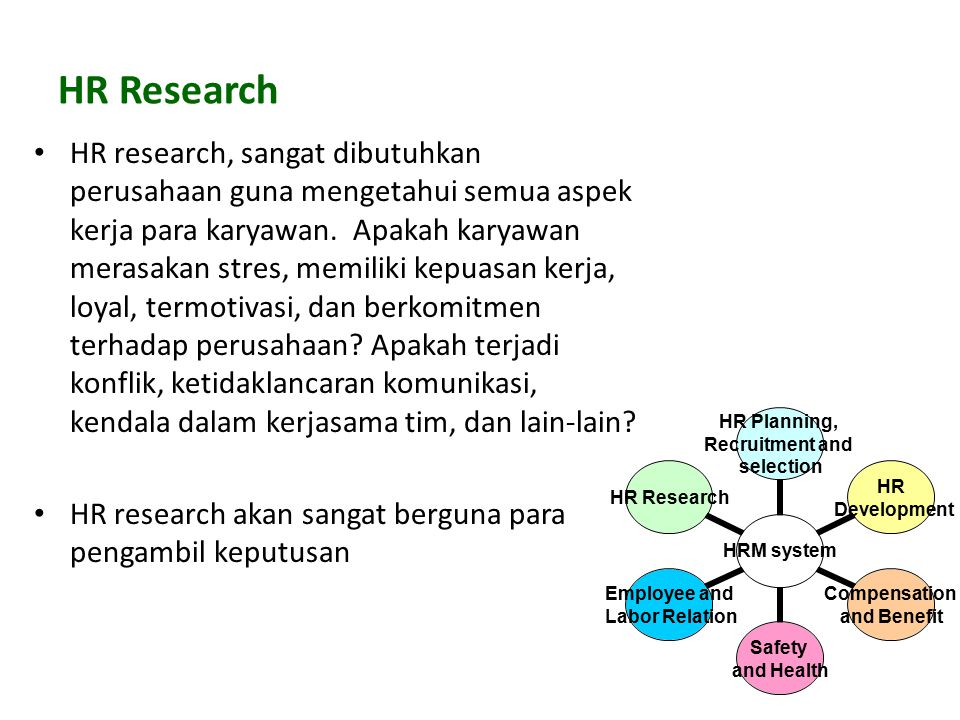 HR Research