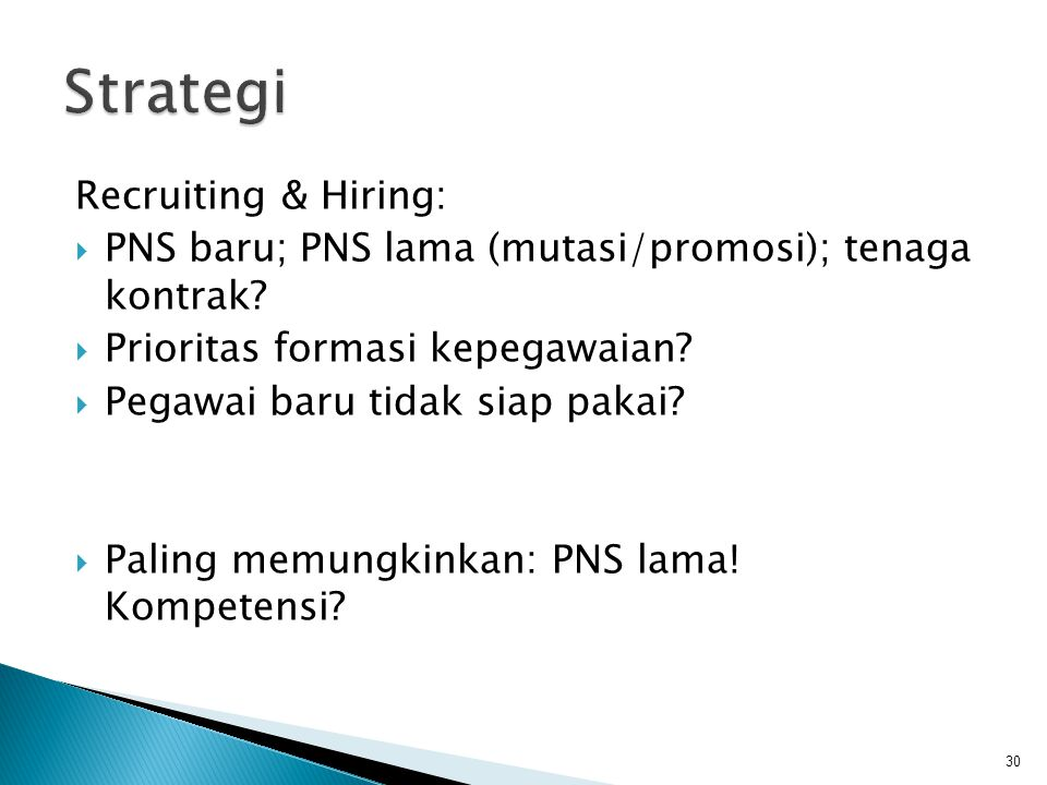 Strategi Recruiting & Hiring: