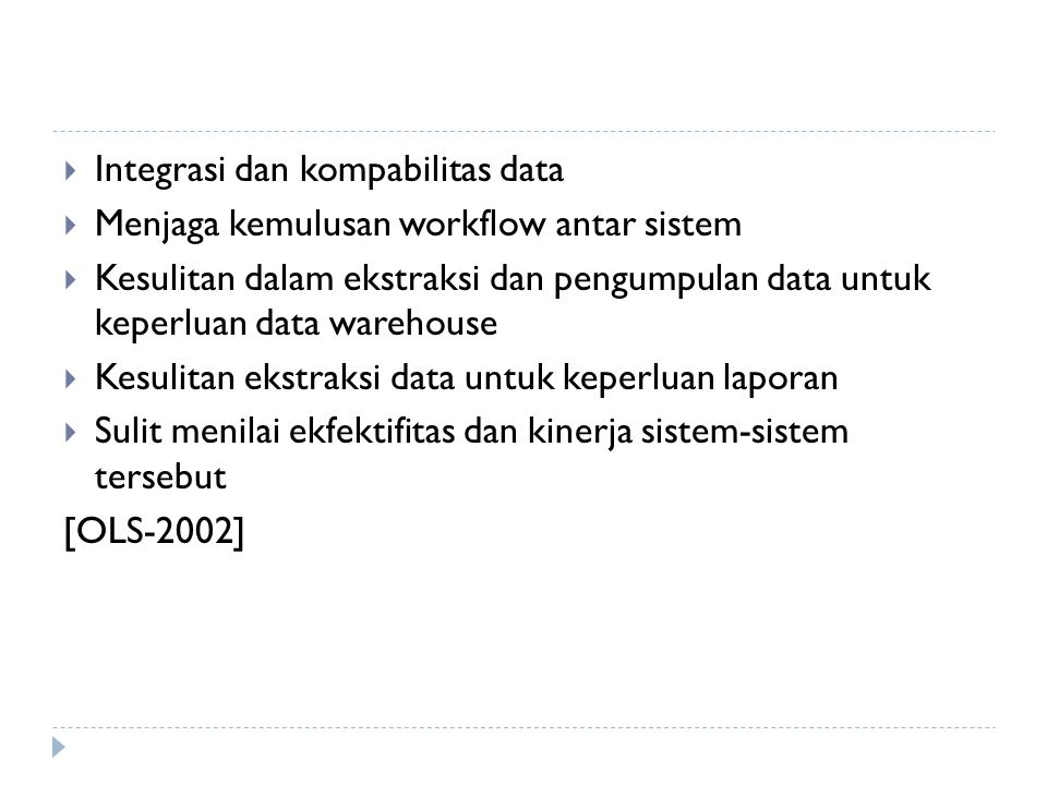 Integrasi dan kompabilitas data