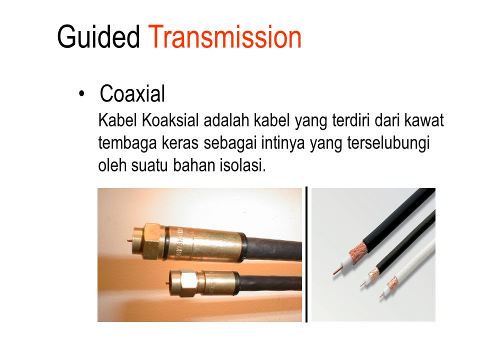 Guided Transmission Coaxial